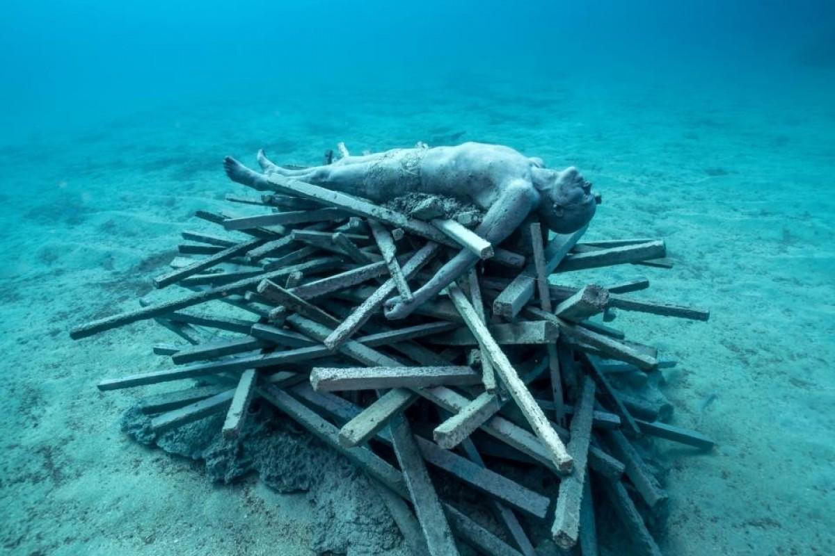 Музей под водата - изкуство и екология