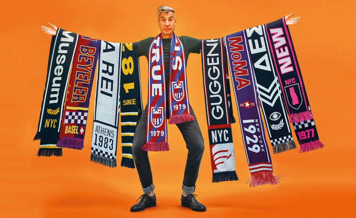 Art lovers scarves from favourite museums.
