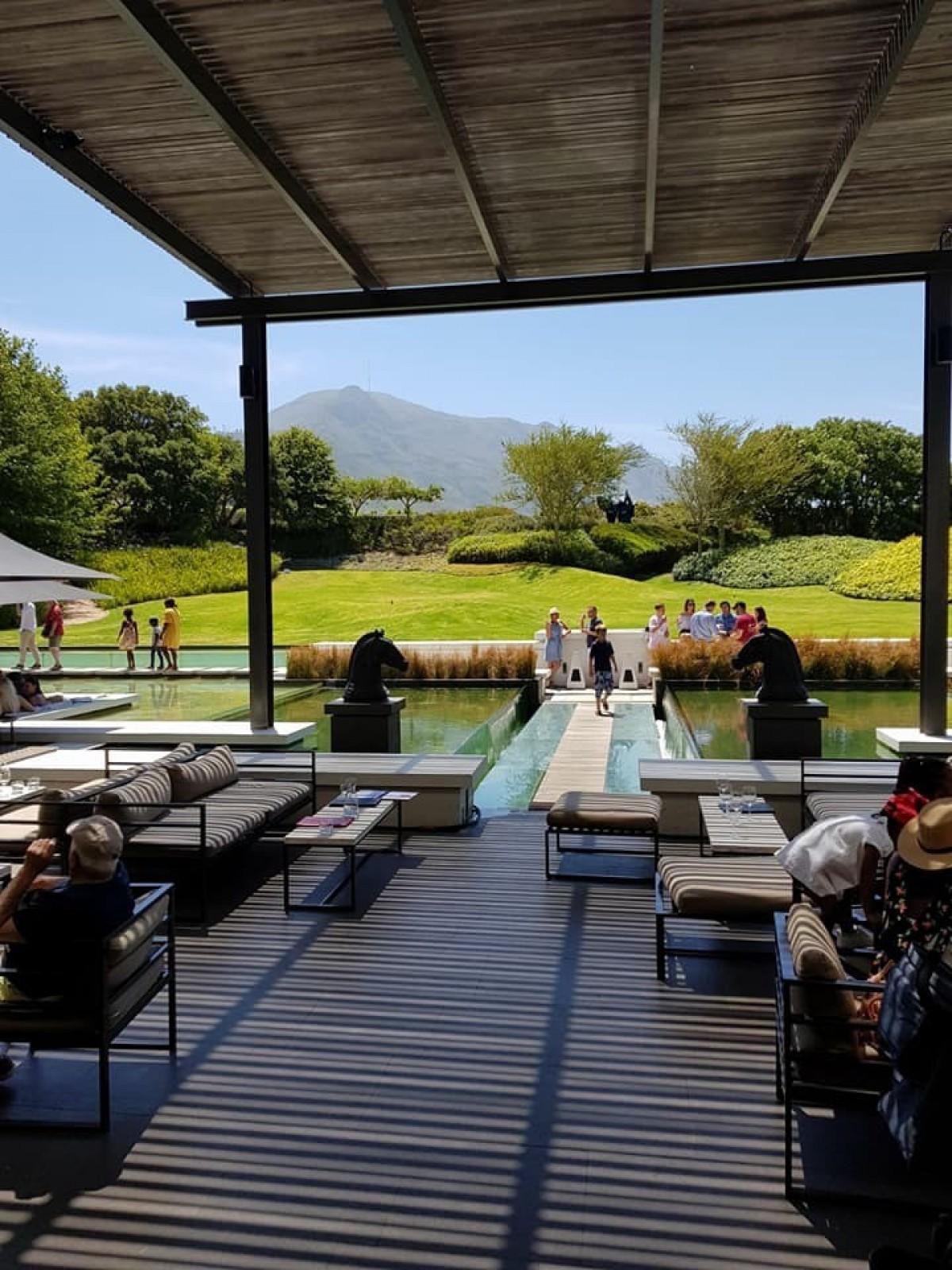 Around the world with Unique Estates' Team - Anastasia Petrova in Cape Town, South Africa.
