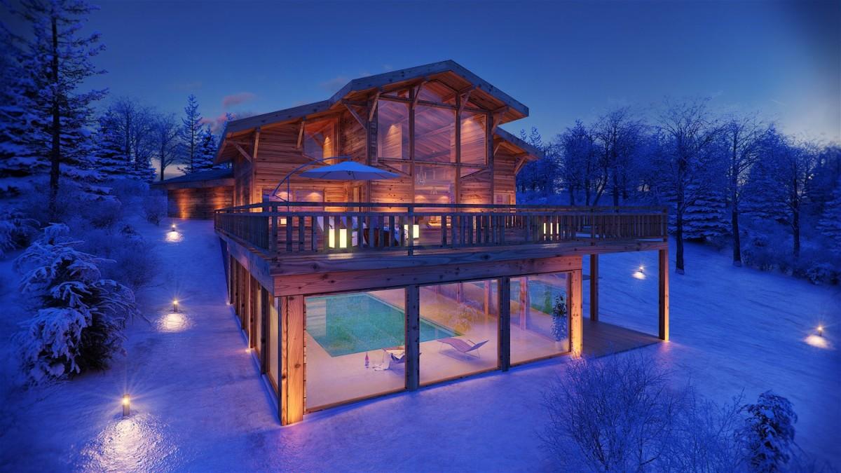 Луксозно шале в Кран-Монтана