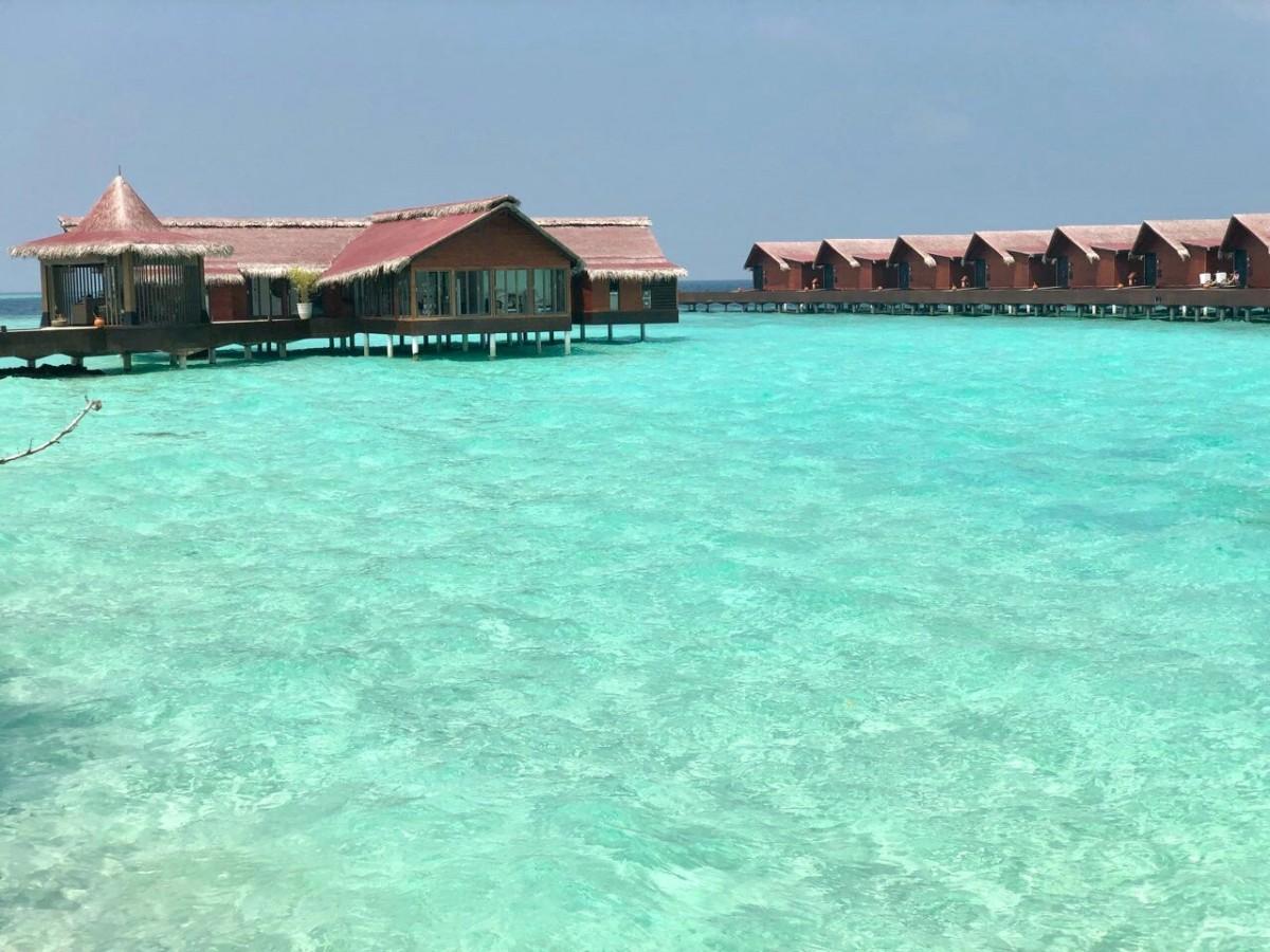 Around the world with Unique Estates - Galina Grudova and Bistra Georgakieva at the Maldives