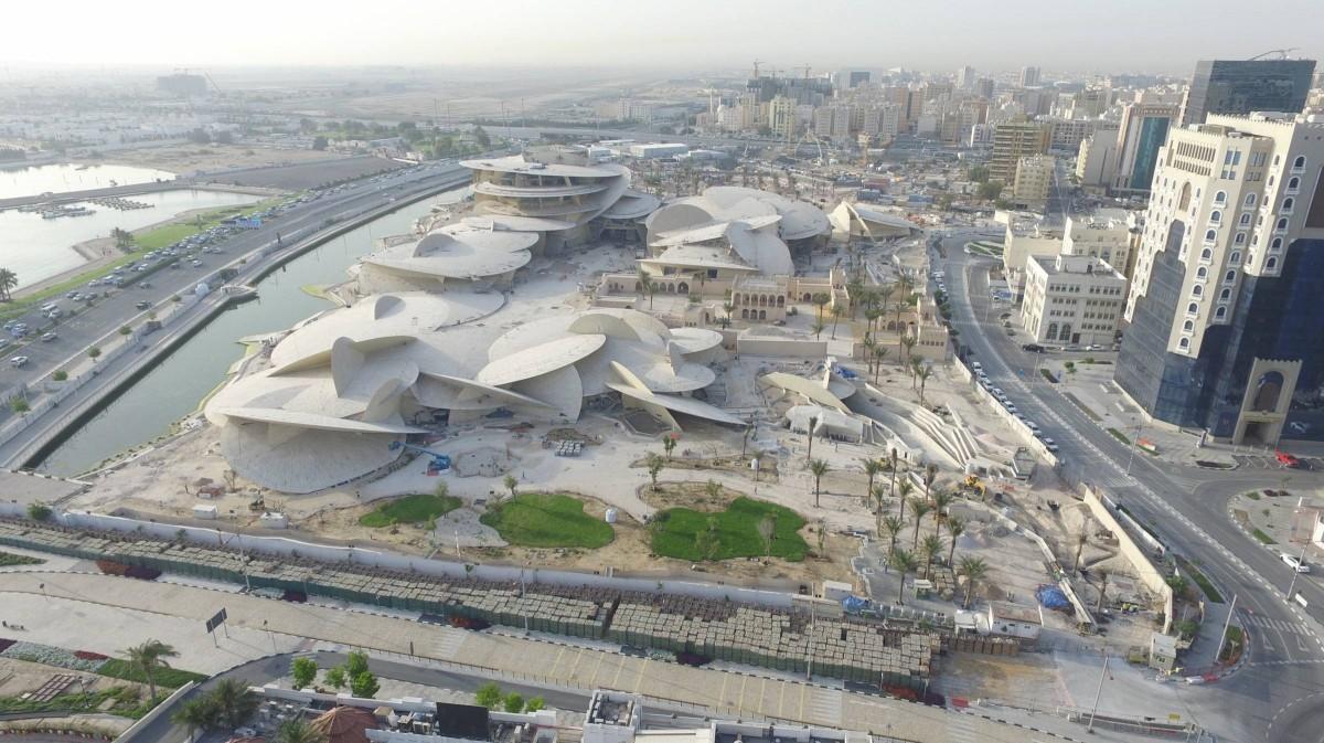 Национален музей в Катар - идентичност, облечена във форма