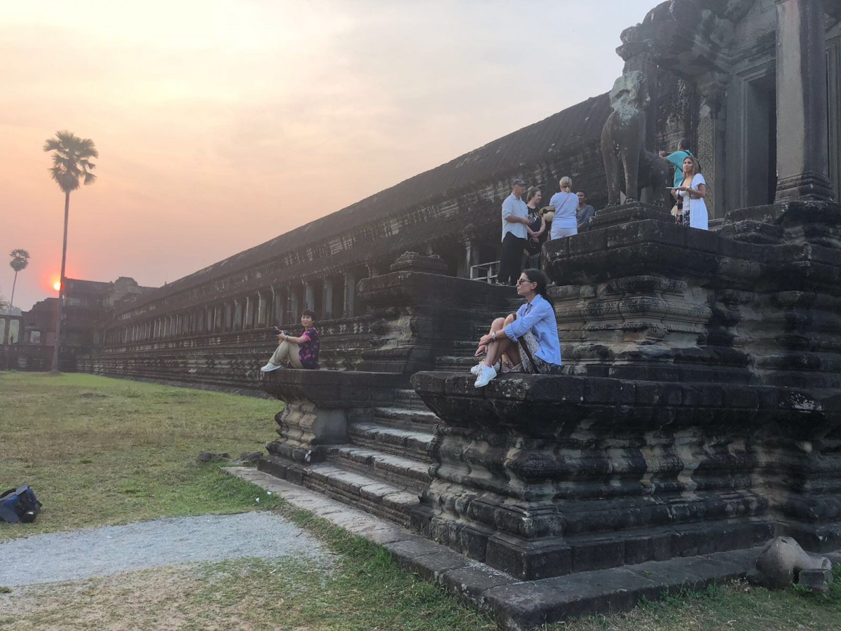 Around the world with Unique Estates - Bistra Georgakieva in Cambodia