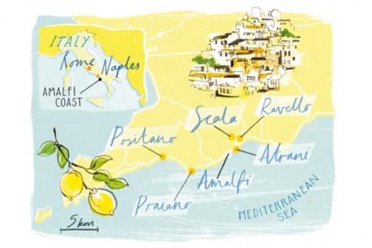 Големите малки ресторанти по бреговете на Амалфи и остров Капри