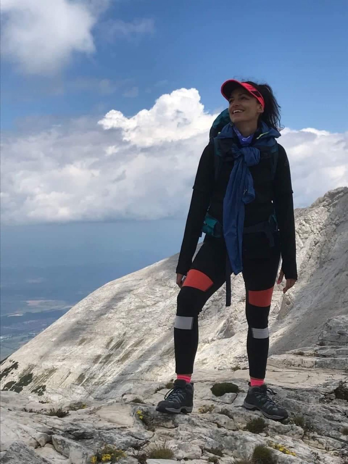 Evelina Kostakeva - among the clouds of Mytikas