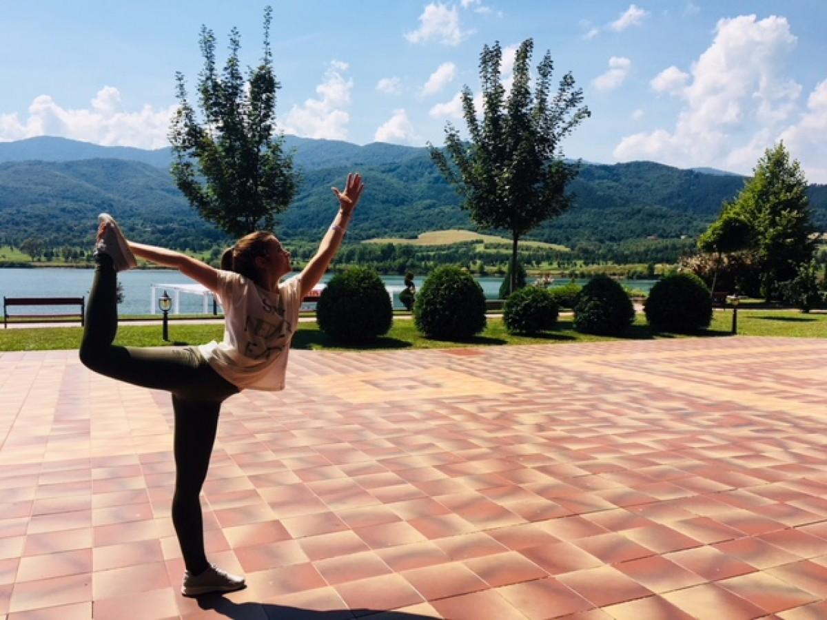 Елеонора Личева - за йогата и умението да живееш балансирано