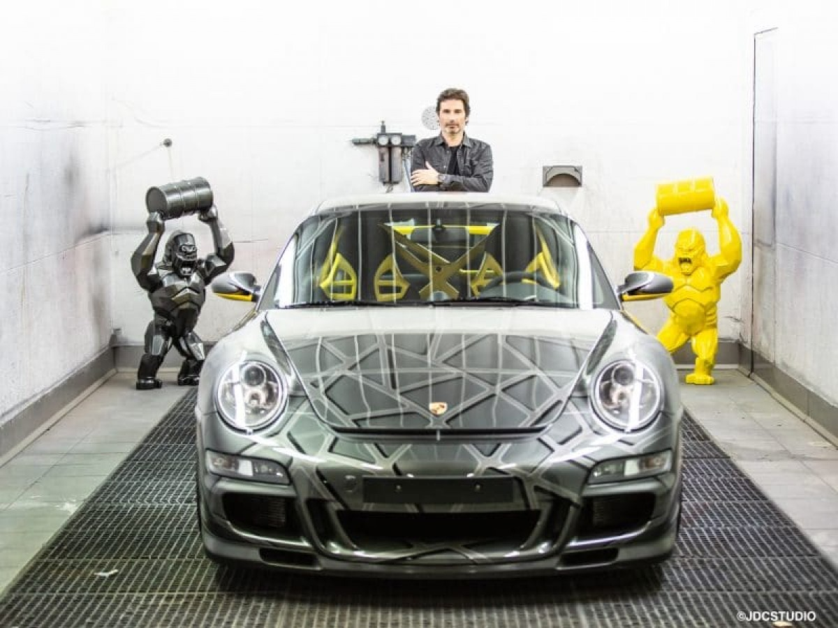 Richard Orlinski and his first project for Porsche