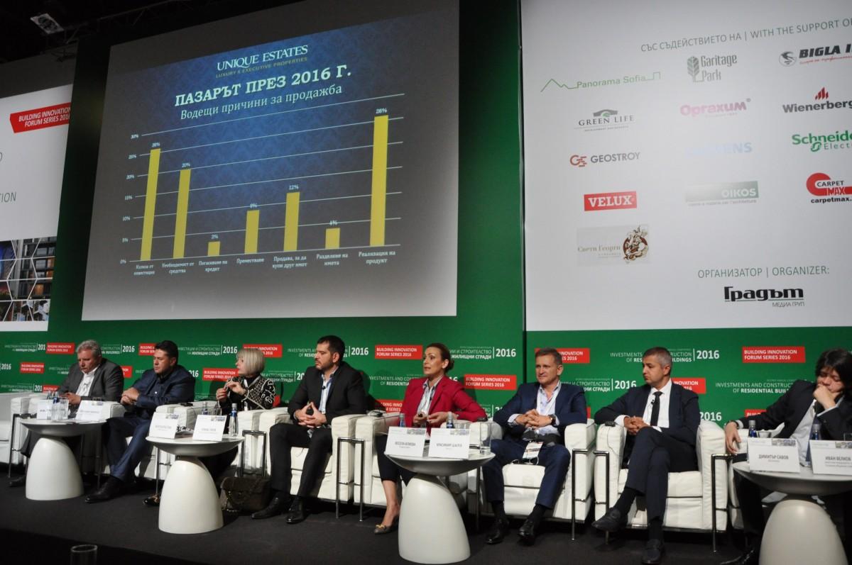 Осезаемо раздвижване на пазара на жилищни имоти в България