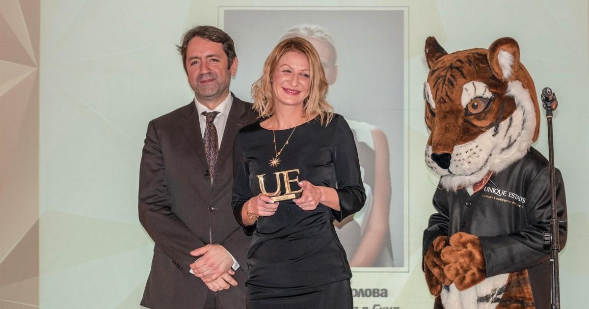 Красимира Николова с две от най-важните награди за годината