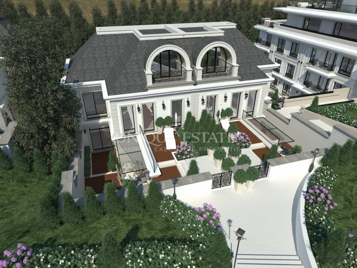 """Изключителна къща за продажба в модерен затворен комплекс в """"Драгалевци"""""""