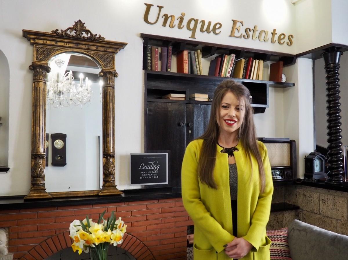 Elena Hadjiteneva joins Unique Estates' team