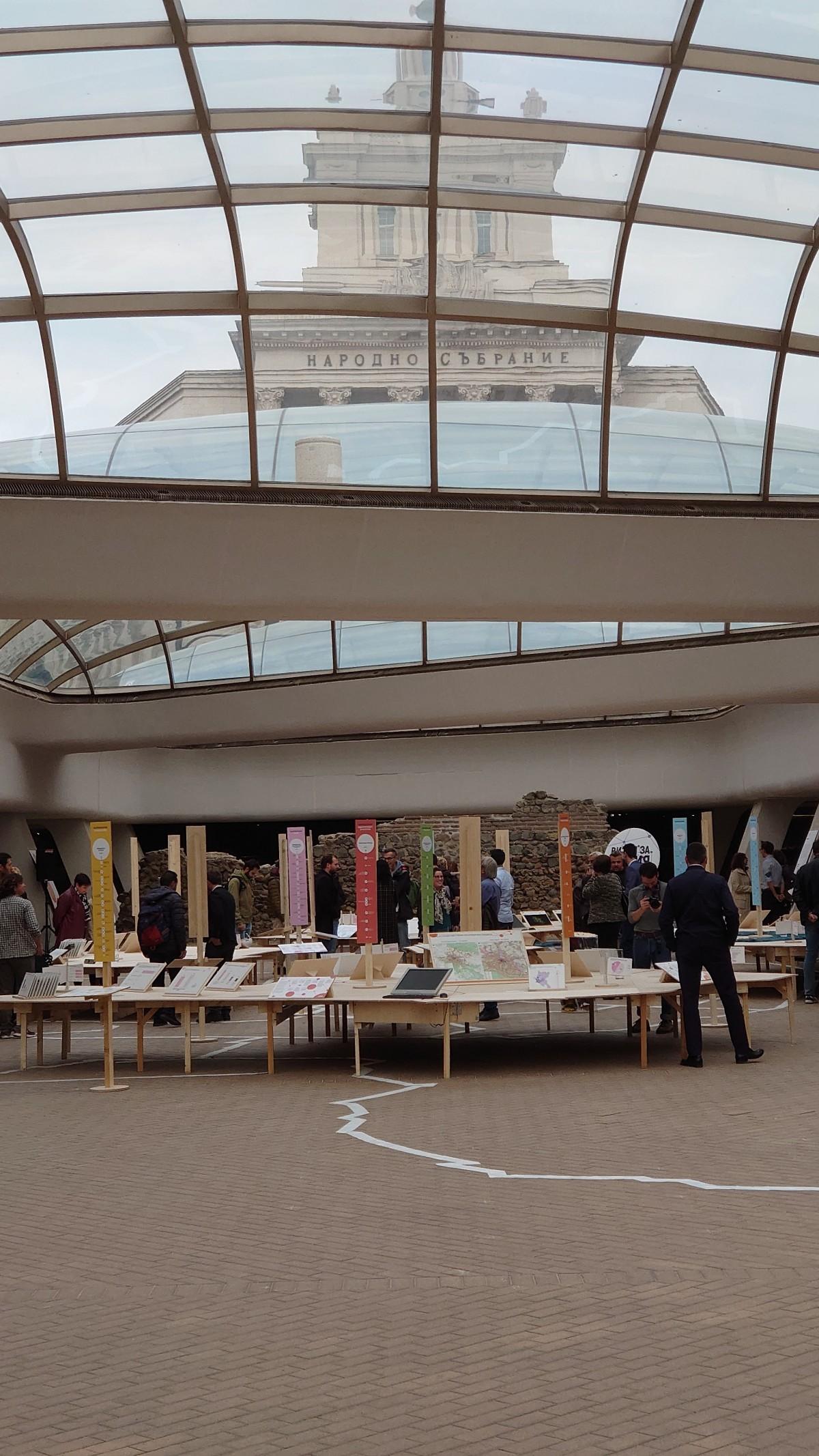 Изложба представя визия за развитието на София до 2050 г.