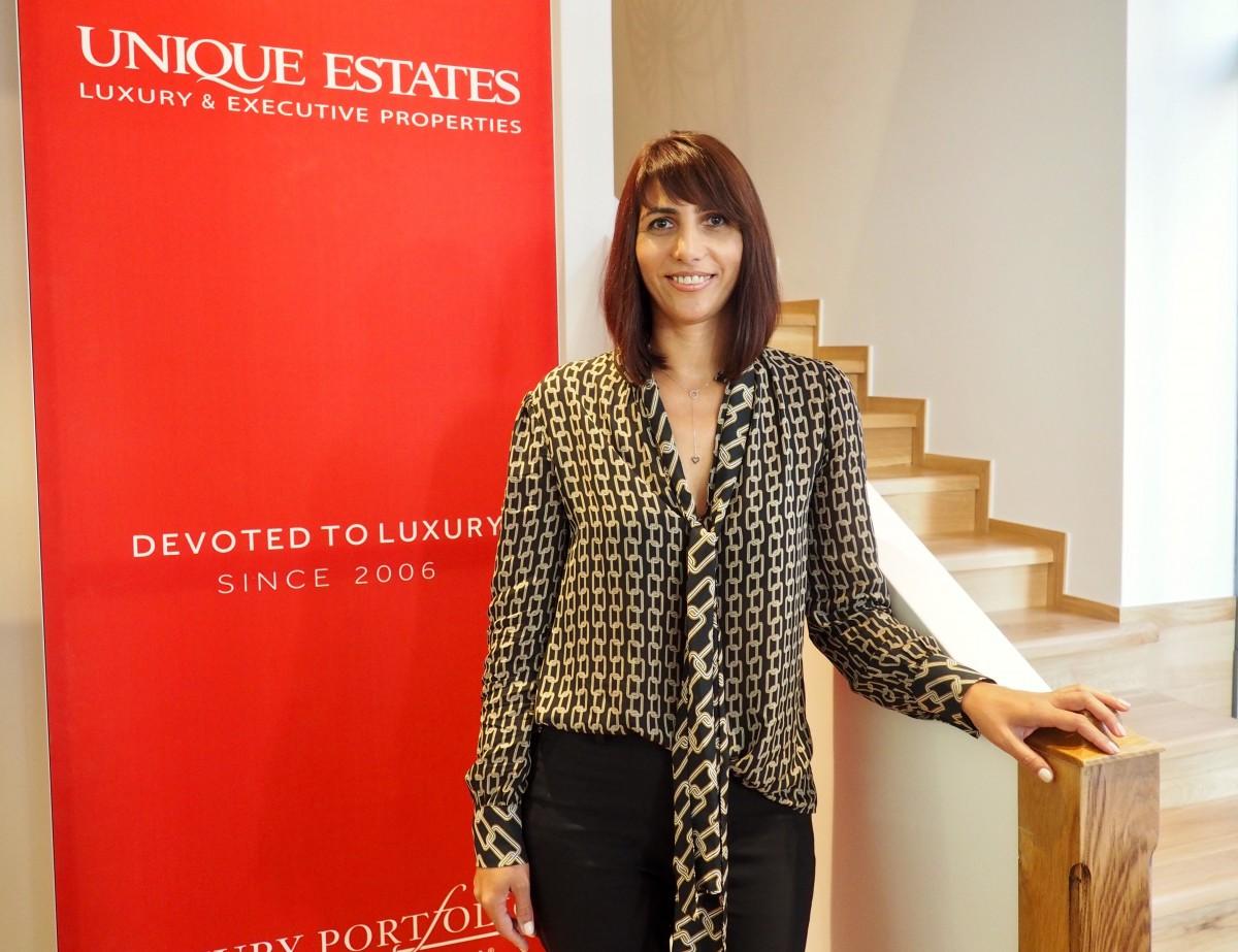 Доника Григорова - нов член в екипа на Unique Estates