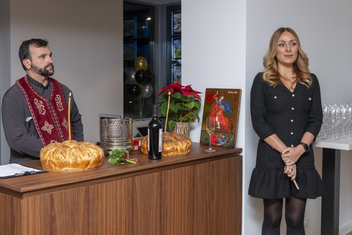 Solemn inauguration ceremony for the launch of Unique Estates' new modern office
