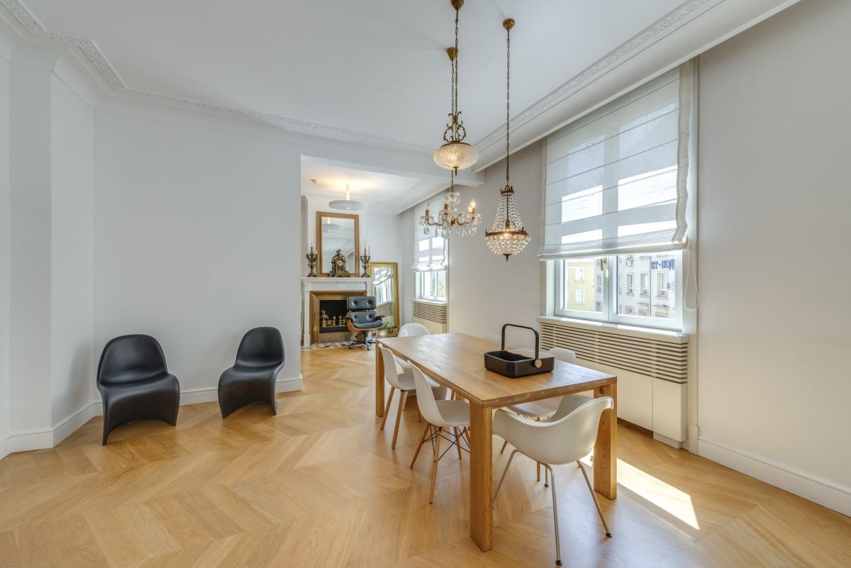 Ден на отворените врати - дизайнерски апартамент в аристократична сграда в центъра