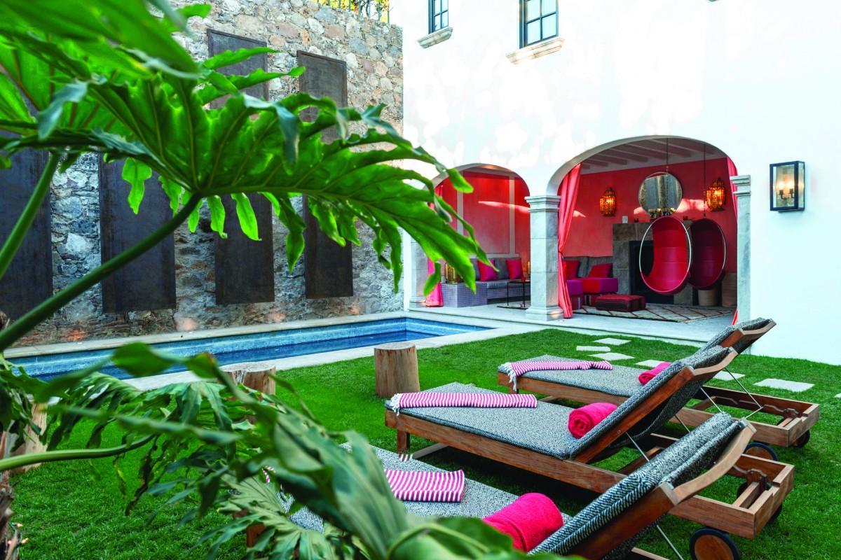 A historic Hacienda goes contemporary in San Miguel de Allende