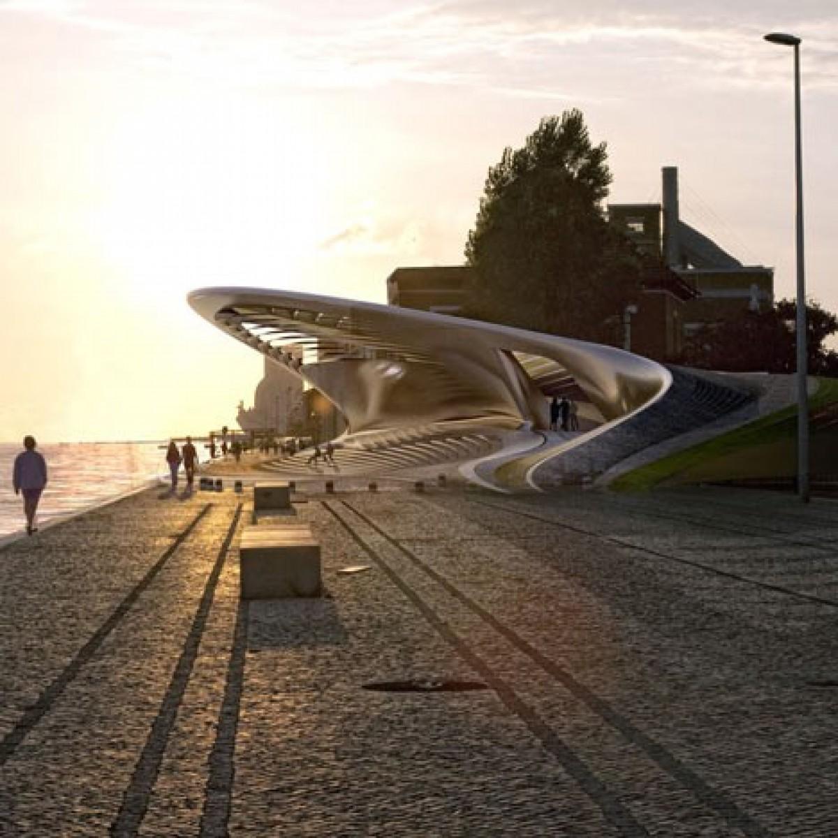 Нов музей в Лисабон обединява архитектурата и технологиите