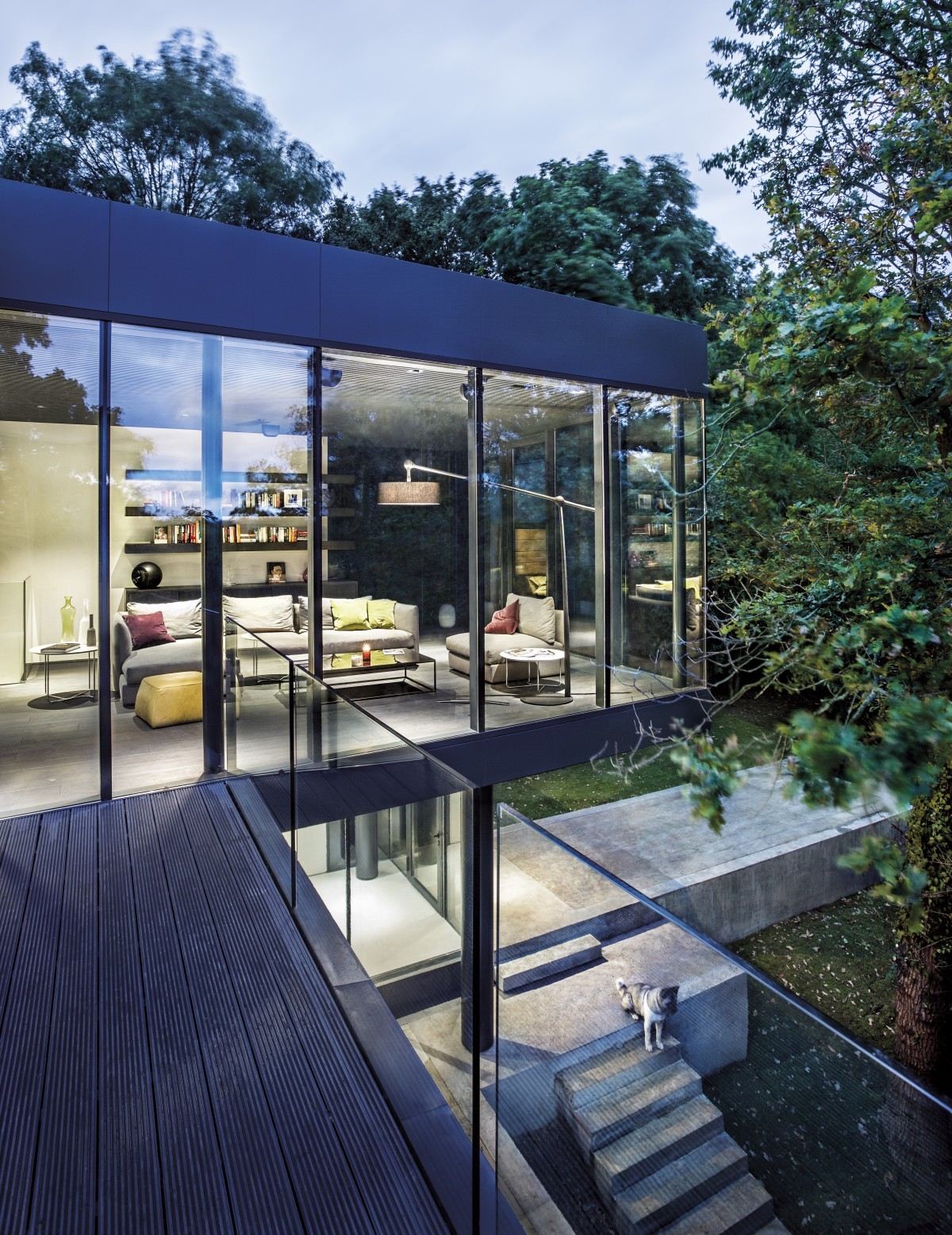 Архитектурата, природата и луксът