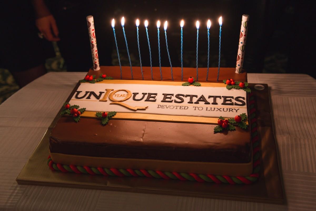 Коледно парти Unique Estates