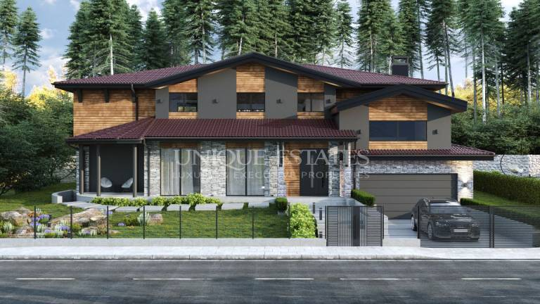 Magnificent  new house in Bankya for sale