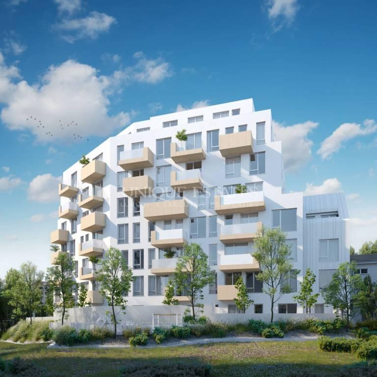 Тристаен апартамент в луксозна сграда в кв. Гео Милев