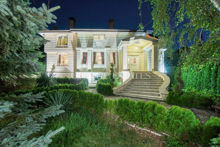 The only one and unique French-style residence in Boyana