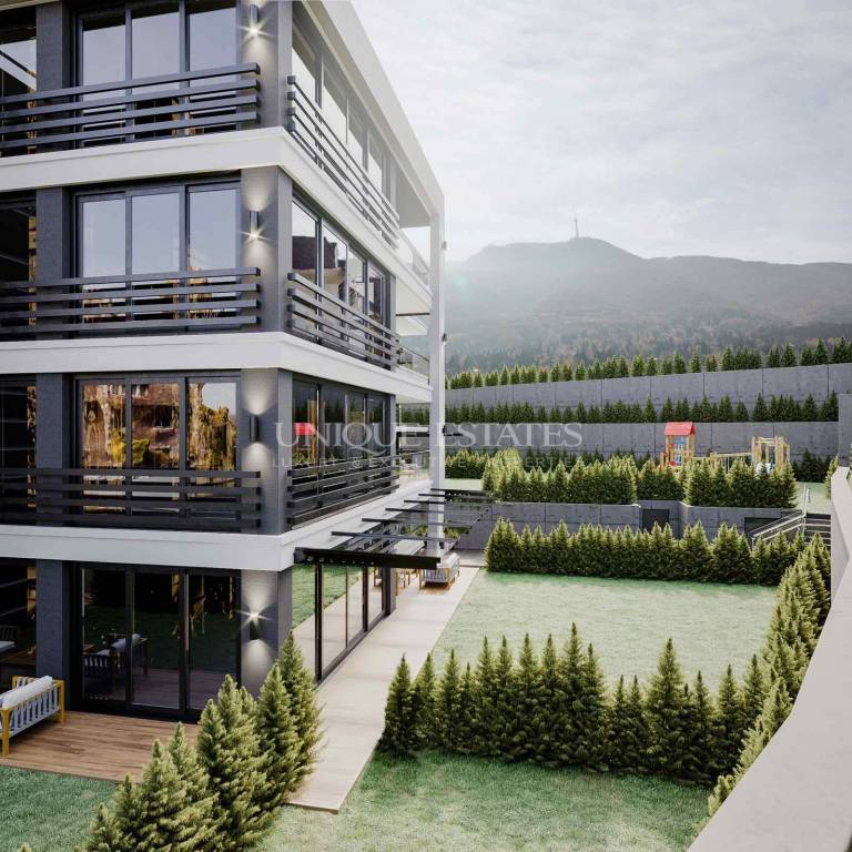 One bedroom apartment with beautiful views in a new modern buildi