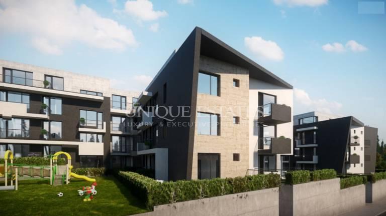 Панорамен апартамент с голяма тераса в нова сграда за продажба