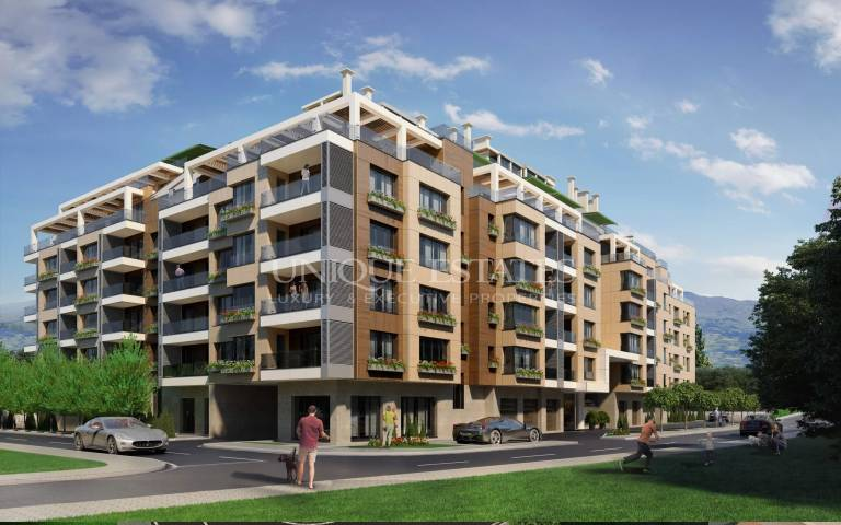 Просторен двустаен апартамент във Витоша