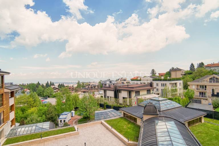 Spacious one-bedroom apartment in the most elite part of Boyana