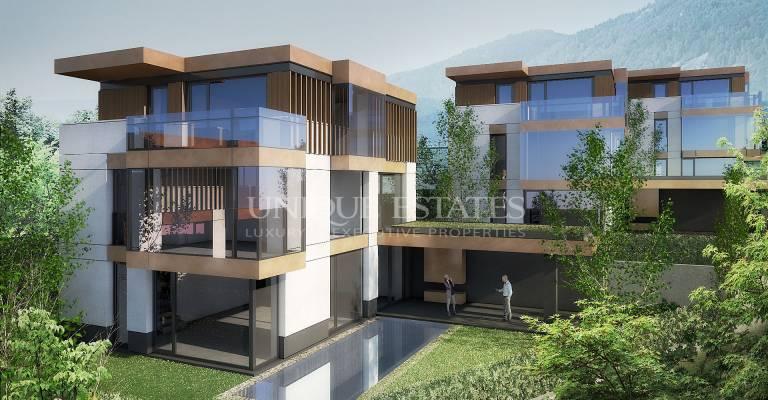Модерни, нови къщи с басейн в кв. Драгалевци за продажба