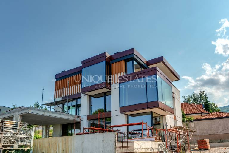 Residential complex, a combination of modern style and luxury