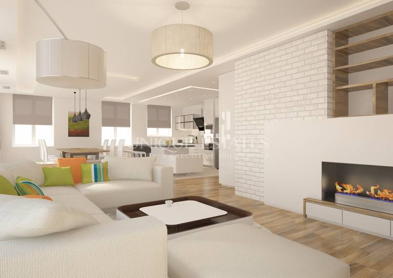 Designer's furnished apartment with 3 bedrooms for sale in RPS