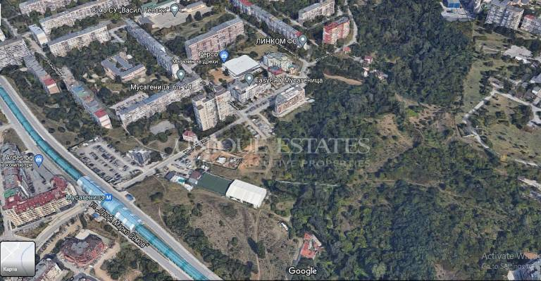 Plot for sports in the residential area Mladost-1 for sale