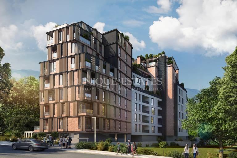 Прекрасен тристаен апартамент с гледки към планина Витоша