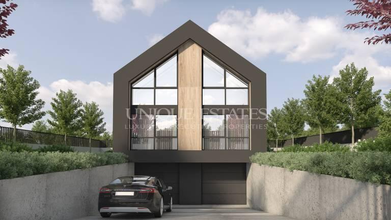 Две самостоятелни модернистични къщи в кв. Драгалевци