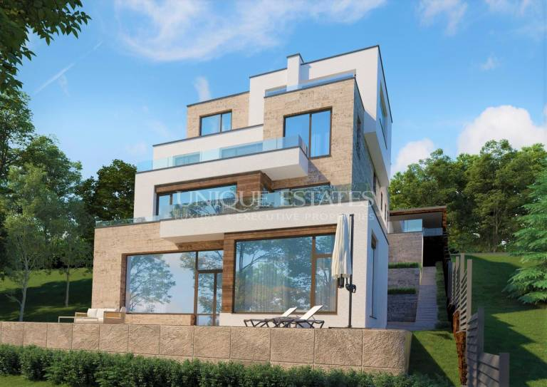 New, modern house for sale with a great location in Boyana