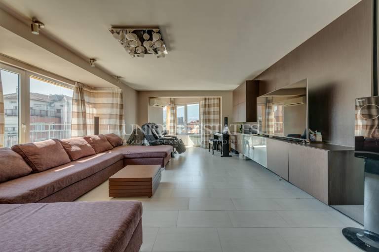 Spacious penthouse for sale with views of Vitosha Mountain