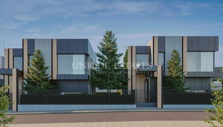 Луксозна къща в нов затворен комплекс в район Панчарево