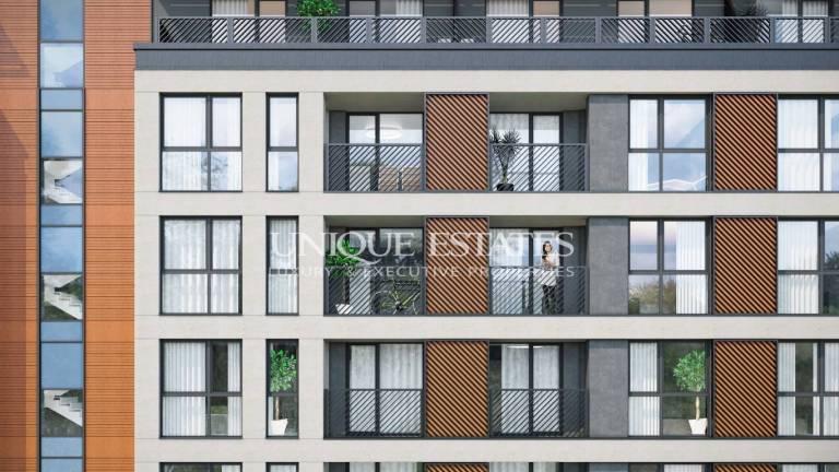 Апартамент в центъра на София с панорамни гледки