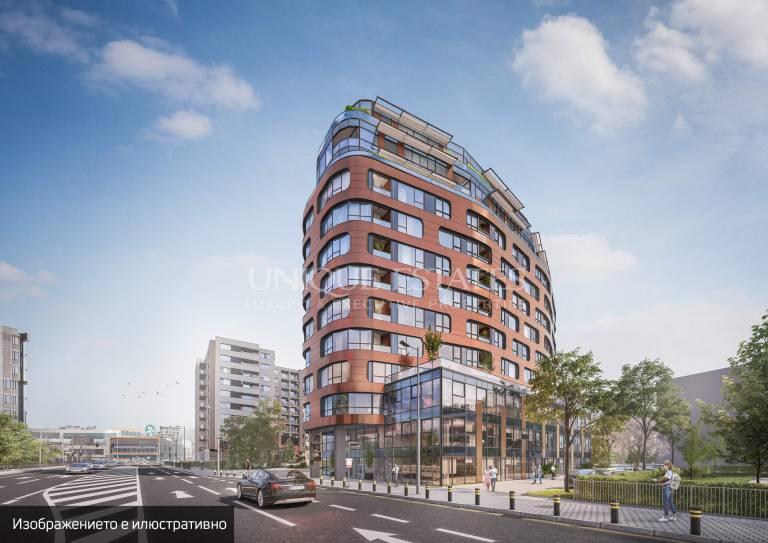 Апартамент с просторни гледки на пешеходно разстояние от Парадайс