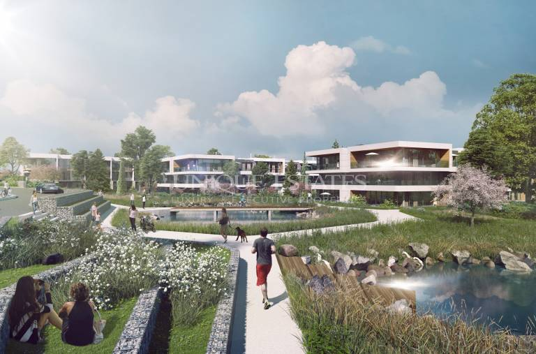 Нов апартамент в затворен комплекс панорамна гледка към Витоша