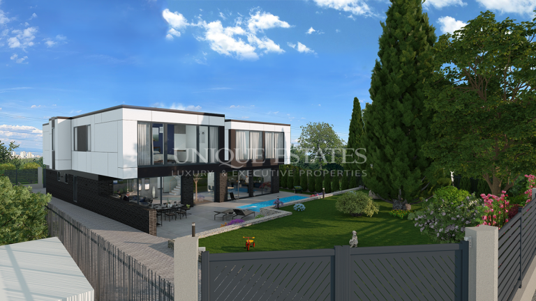 Ексклузивна нова къща за продажба в кв. Симеоново