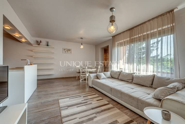 Excellent one bedroom apartment in Boyana for rent