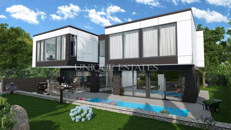 Exclusive new house for sale in Simeonovo Qt.