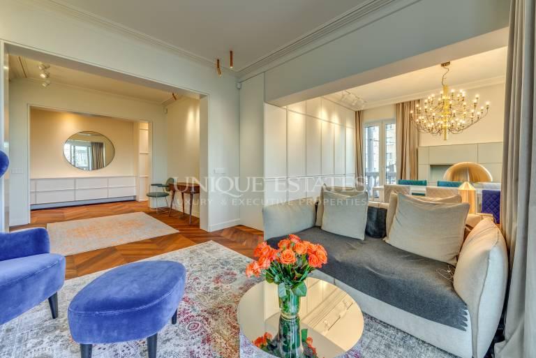 Прекрасен апартамент с изискан интериор срещу  Княжеска градина