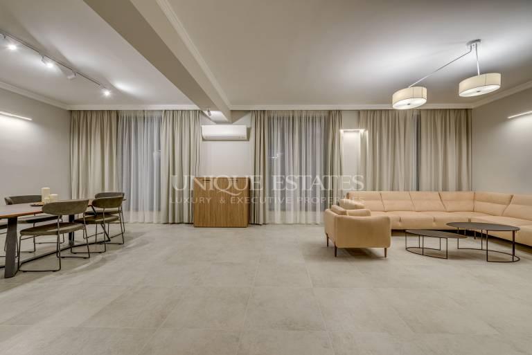 Нов тристаен апартамент под наем в затворен комплекс