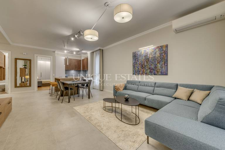 Modern two-bedroom apartment for rent in a gated complex