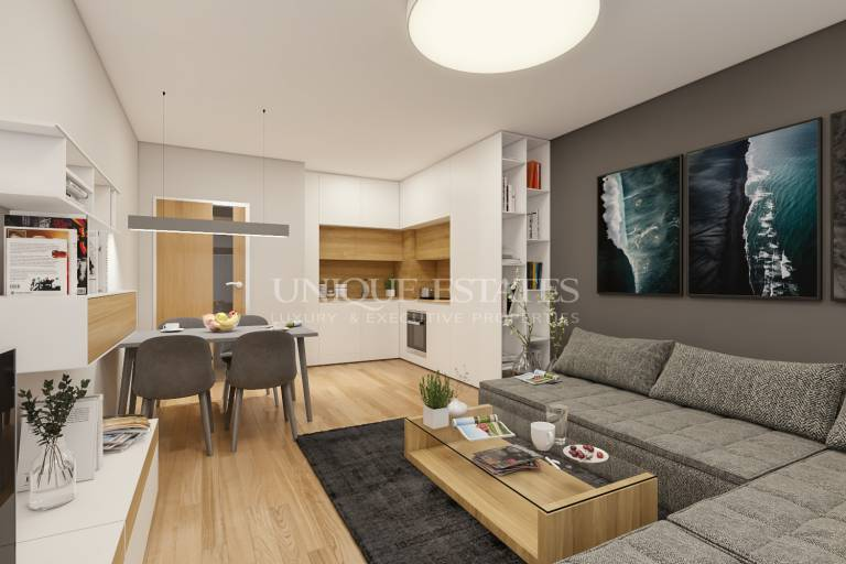 Two-bedroom apartment close to the Independence Square