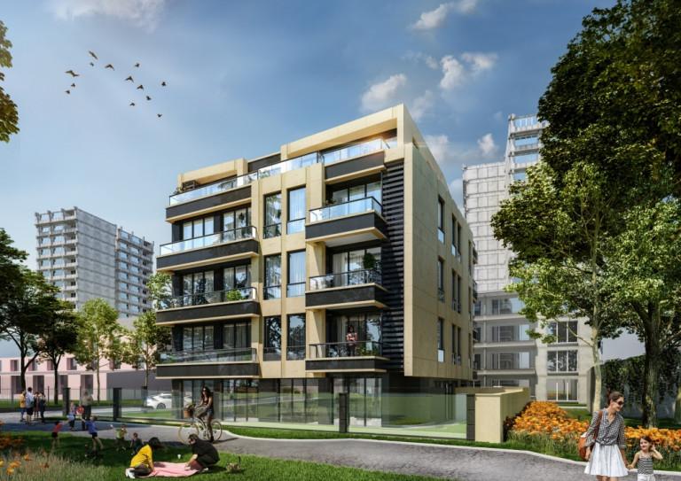 Луксозна жилищна сграда в квартал Изток